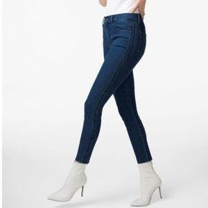 J Brand   Alana Caspian High-Rise Crop Skinny Jean